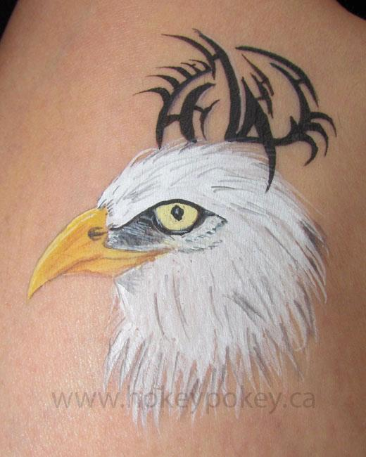 Face Paint Image - Eagle