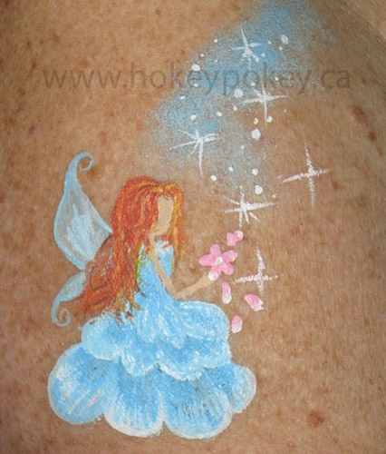 Arm Painting Ideas - simple fairy