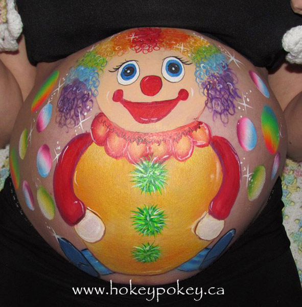 Images for belly painting - Fun belly paint