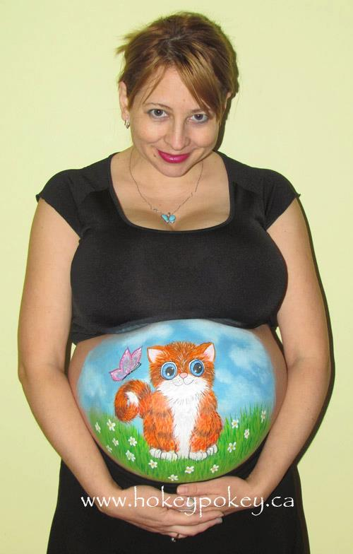 Prenatal Belly Painting - Belly Paint Photo