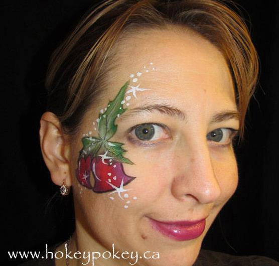 Great Christmas Cheek Face Painting Designs 556 x 530 · 65 kB · jpeg