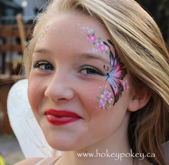 Face Painting Ideas - Supper fast design for kids