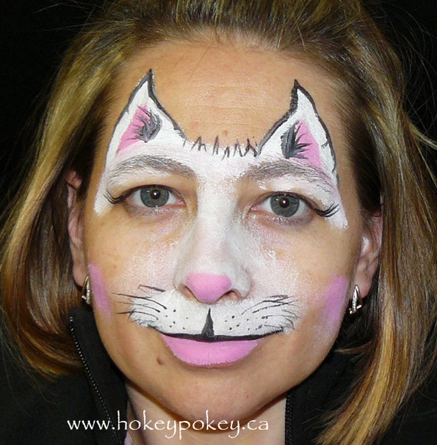 Cat Face Painting Sample