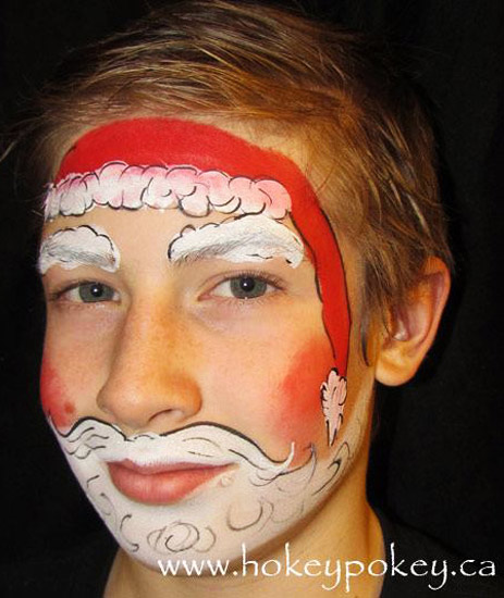 Christmas Face Paint.Face Paint Gallery Face Painting Gallery Face Painting