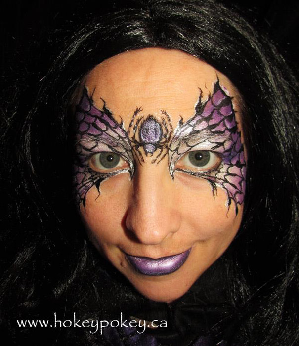Halloween party Face Paint Idea