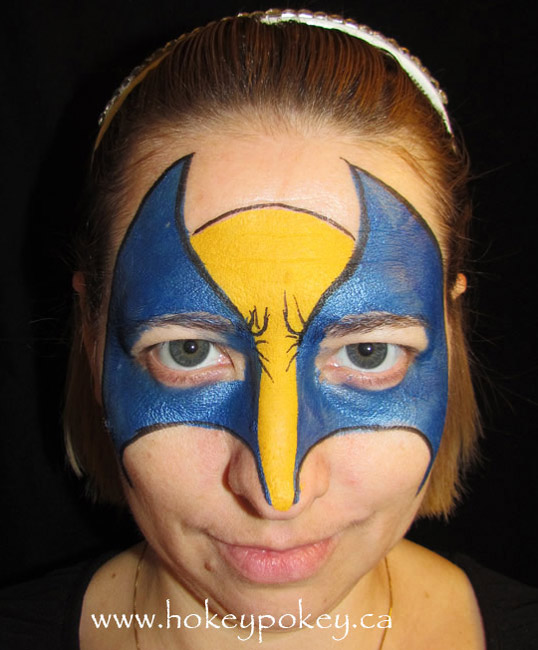 Wolvarin face paint