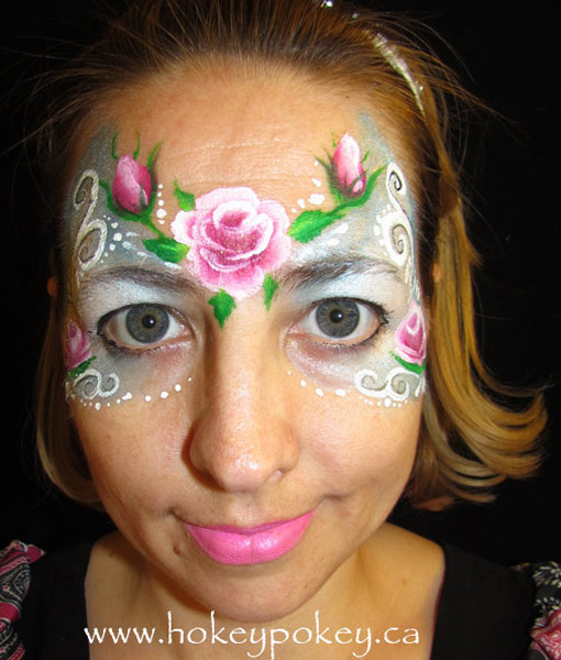 Fancy face painting - Girls Face Paint
