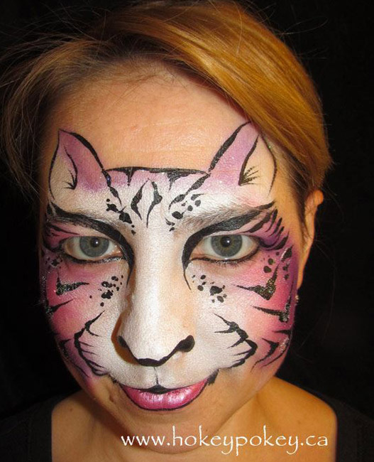 Kitty Face Painting Ideas