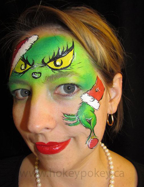 Christmas Face Painting Sample