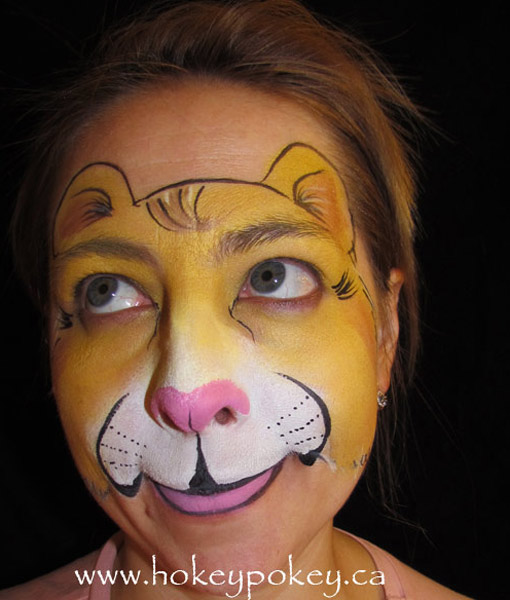 Face Painting Images- Lion face paint