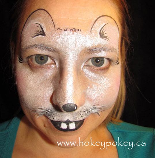 Mouse face painting idea