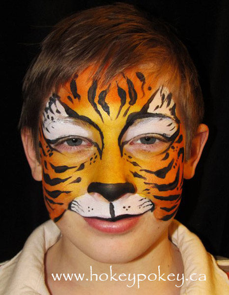 DFX Face Painting Ideas - Tiger